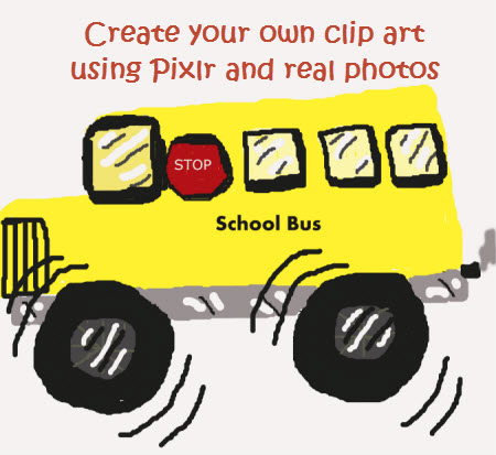 Create your own clip art (posted on adaptivelearnin.com)